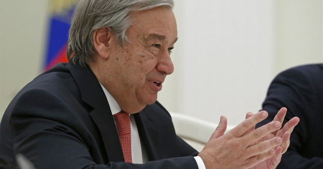 UN's incoming secretary-general meets Russia's Putin
